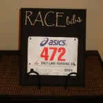 Black-Race-Bib-Holder-On-Table