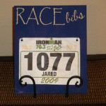 Blue-Race-Bib-Holder-On-Table