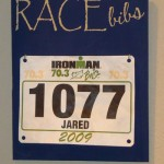 Navy Blue Race Bib Holder