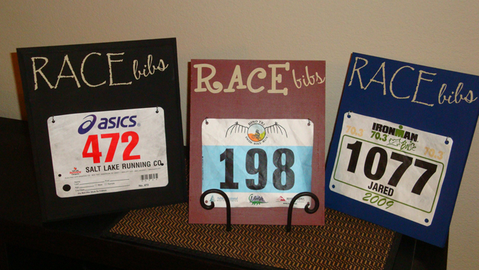 Race Bib Holders