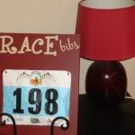 Red-Race-Bib-Holder